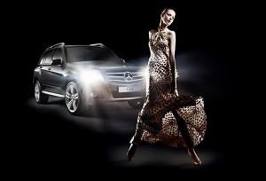 mercedes fashion show